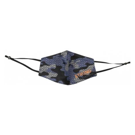 DELICATELOVE Látkové rúško 'Camouflage'  čierna / modrá