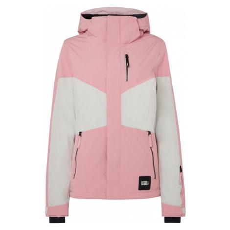 O'NEILL Outdoorová bunda 'PW CORAL'  ružová / biela