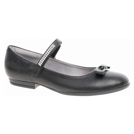 Dívčí lodičky s.Oliver 5-42800-22 black 5-5-42800-22 001