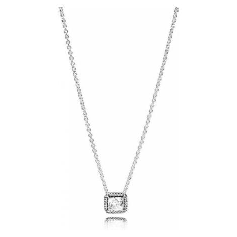 Pandora Luxusný náhrdelník s trblietavým príveskom 396241CZ-45