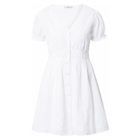 LTB Košeľové šaty 'NABOJI'  biela