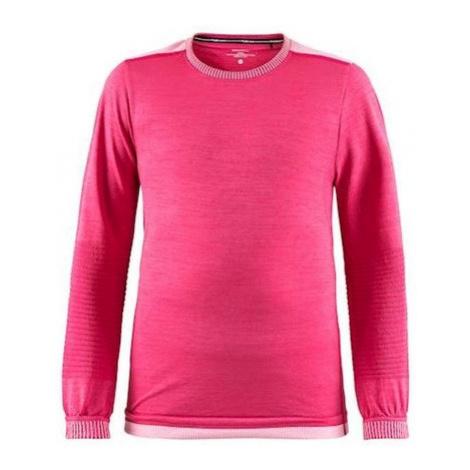 Tričko CRAFT Fuseknit Comfort 1906633-720705 - ružová