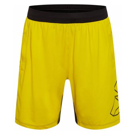 ADIDAS PERFORMANCE Športové nohavice 'FB HYPE'  žltá / čierna