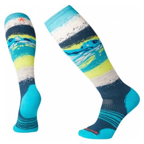 Smartwool PHD SNOW MEDIUM modrá - Dámske lyžiarske ponožky
