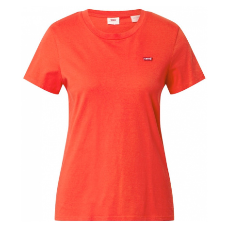 LEVI'S Tričko  oranžovo červená Levi´s