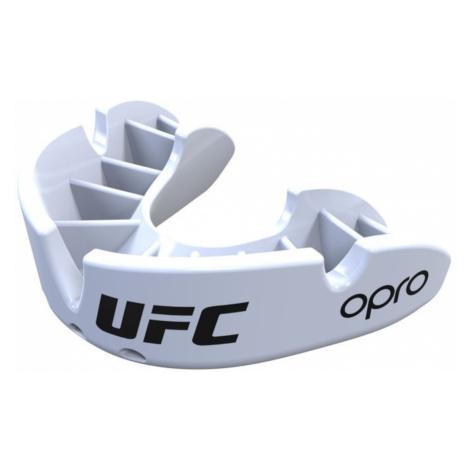 Chránič zubov OPRO Bronze UFC - biela