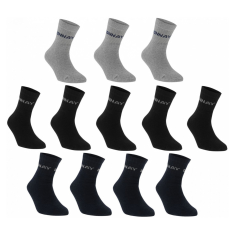 Men's socks Donnay Quarter Socks 12 Pack
