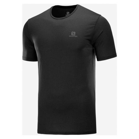 Pánske tričko Salomon Agile training Tee čierne