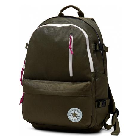 Zelený ruksak Straight Edge Backpack Converse