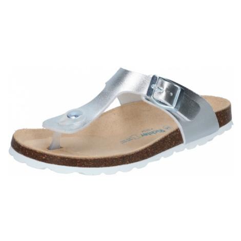 RICHTER Sandále 'Tecbuk'  strieborná