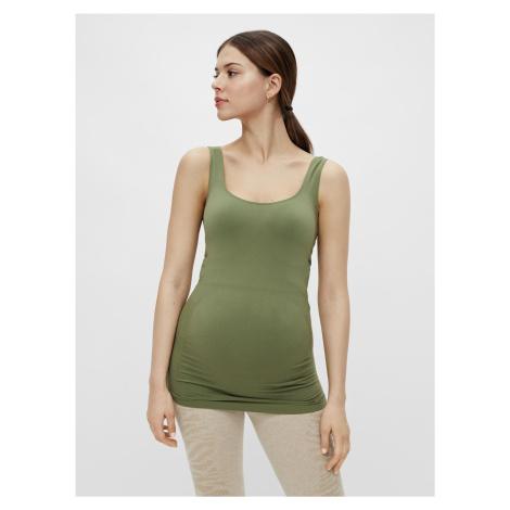 Zelené tehotenské dlhé tielko Mama.licious Heal Mama Licious