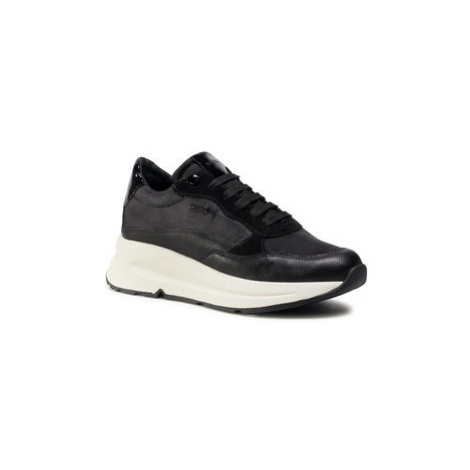 Geox Sneakersy D Backsie B Abx B D04FP B0FUFE C9999 Čierna