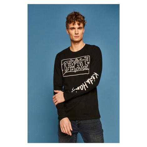 Medicine - Pánske tričko s dlhým rúkavom by Keith Haring