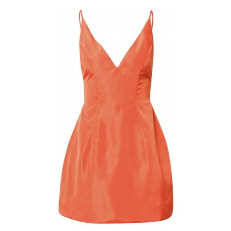 Love Triangle Letné šaty 'SELENA'  oranžovo červená