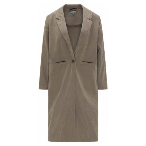 DREIMASTER Prechodný kabát  sivobéžová