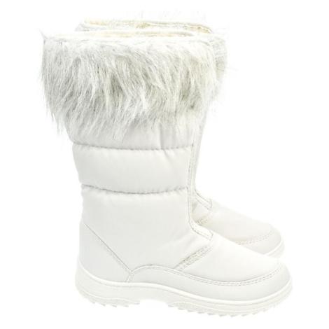 Dámske biele snehule LISKI