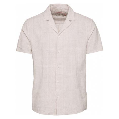 Revolution Košeľa  šedobiela / béžová