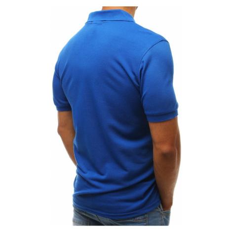 Men's blue polo shirt PX0206 DStreet