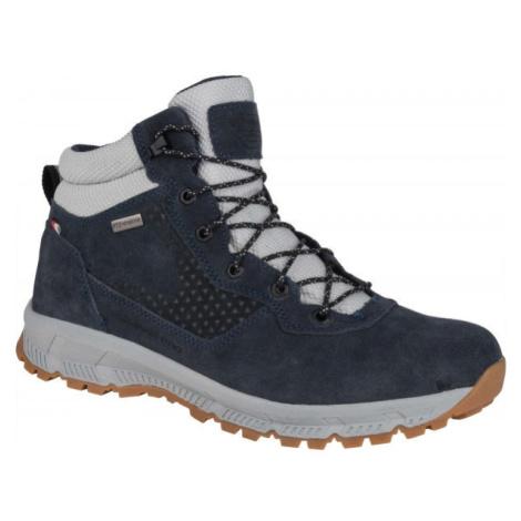 ALPINE PRO AGIM čierna - Pánska mestská obuv