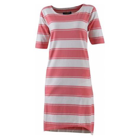 MARINE - dámské šaty s kr.ruk.(Co spandex) - růžové