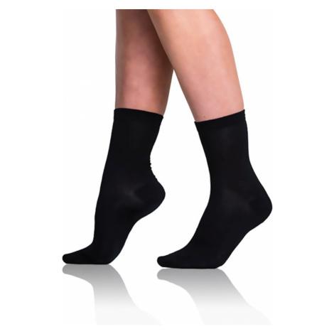 Women's socks made of organic cotton - black Bellinda GREEN ECOSMART