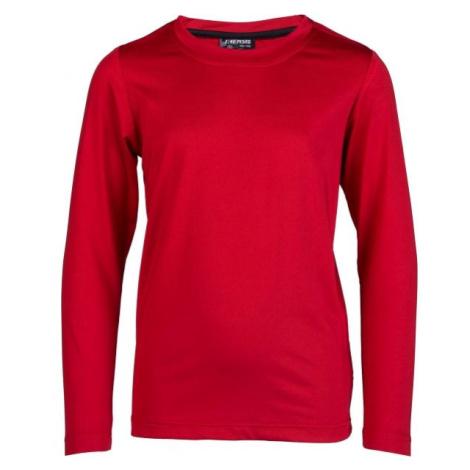 Kensis GUNAR JR červená - Chlapčenské technické tričko