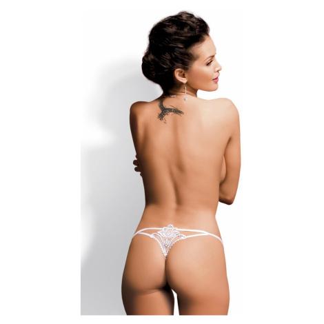 Erotické tangá Luiza thong white Obsessive