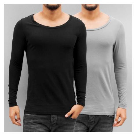 Bangastic 2-Pack Long Sleeve Black/Grey - Veľkosť:M