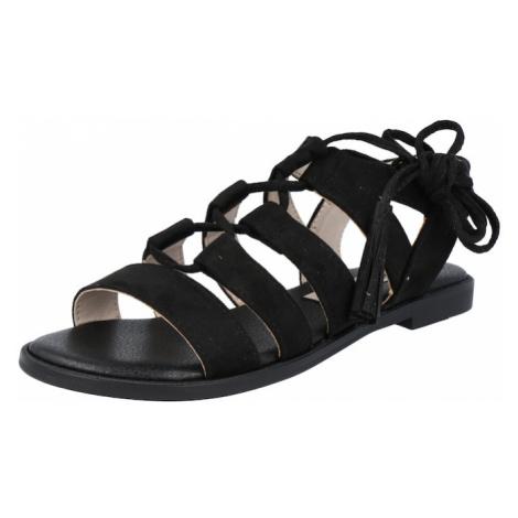 MTNG Remienkové sandále 'RAINBOW'  čierna