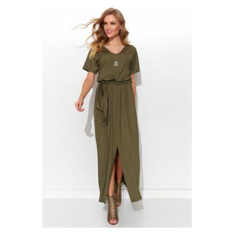 Numinou Woman's Dress Nu278 Khaki