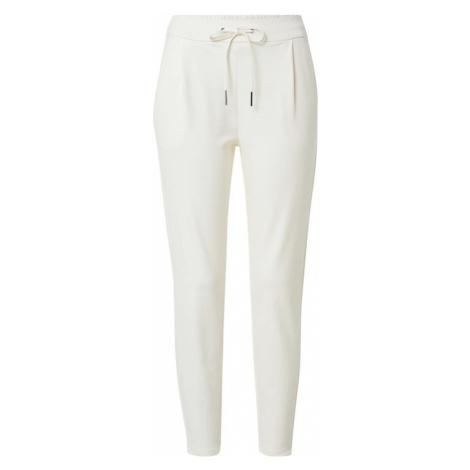 VERO MODA Plisované nohavice 'Eva'  biela