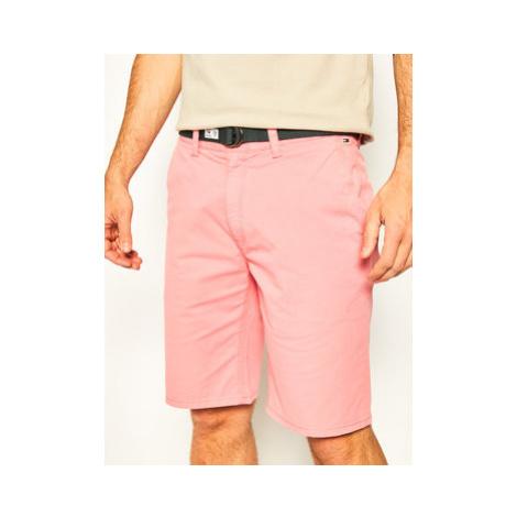 Tommy Jeans Bavlnené šortky Tjm Vintage Wash DM0DM07932 Ružová Regular Fit Tommy Hilfiger
