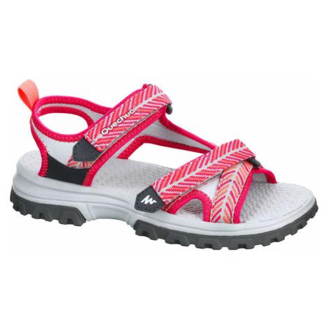QUECHUA Sandále Mh120 Tw Ružové
