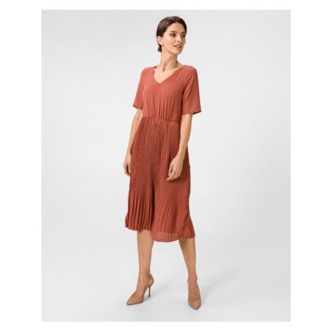 Vero Moda Malou Šaty Červená Oranžová