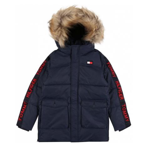 TOMMY HILFIGER Zimná bunda 'ARCTIC TAPE PARKA'  tmavomodrá