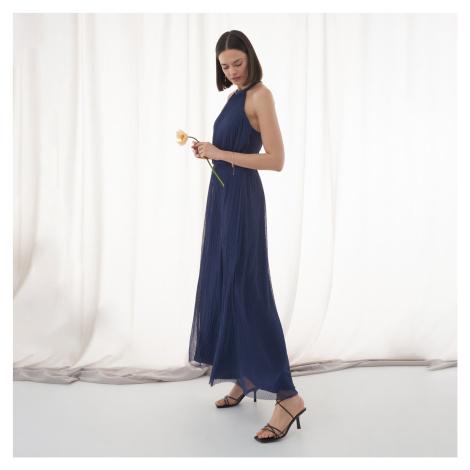 Mohito - Šaty s odhaleným chrbtom - Modrá