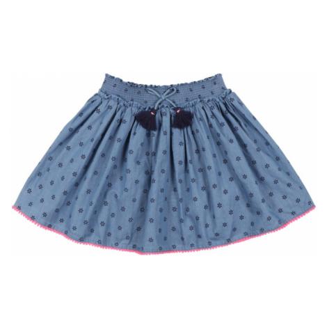STACCATO Sukňa  modrosivá / modrá / ružová