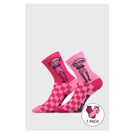 Dievčenské ponožky Lichožrúti Žiletka Boma