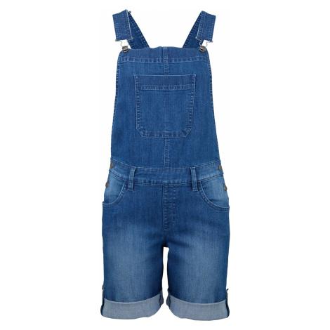 Džínsové šortky na traky, komfortné bonprix