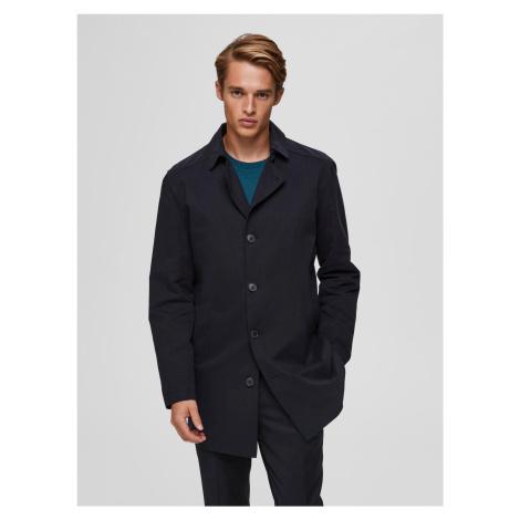 Selected Homme čierne pánska kabát