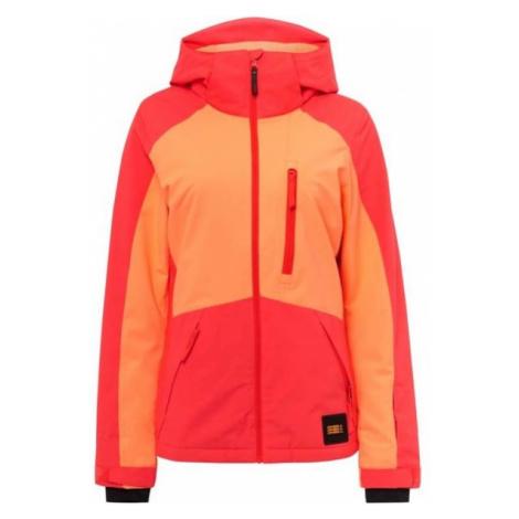 O'Neill PW APLITE JACKET červená - Dámska lyžiarska/snowboardová bunda
