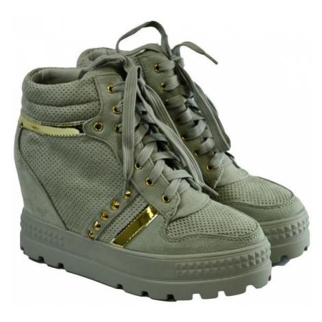 Dámske sivé topánky VIANA COMER