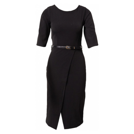 Closet London Puzdrové šaty  čierna