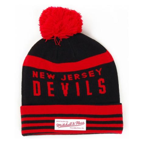 Mitchell & Ness On Field NJ Devils Beanie - Veľkosť:UNI