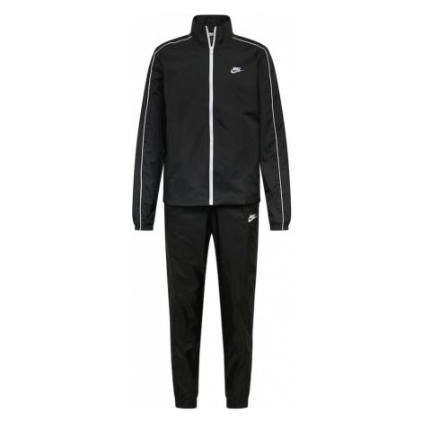 Nike Sportswear Joggingová súprava  čierna / biela