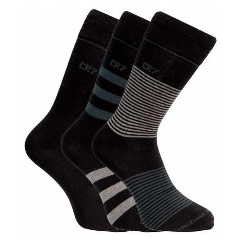 3PACK ponožky CR7 viacfarebné (8273-80-112)