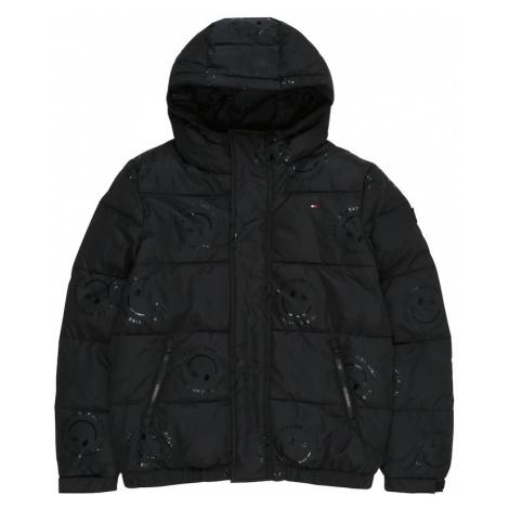 TOMMY HILFIGER Zimná bunda  zmiešané farby / čierna