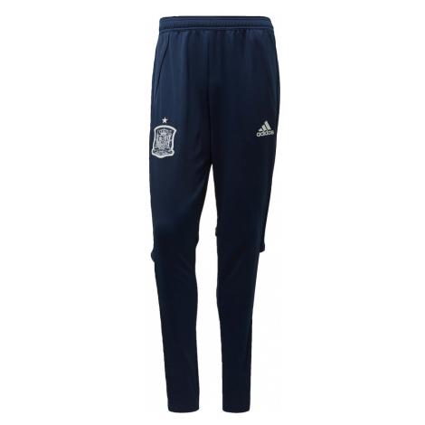 ADIDAS PERFORMANCE Športové nohavice 'FEF Spanien EM 2020'  biela / námornícka modrá