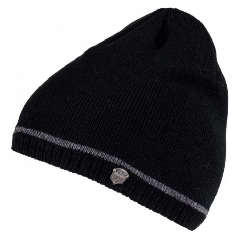 Lewro ROBY čierna - Chlapčenská pletená čiapka