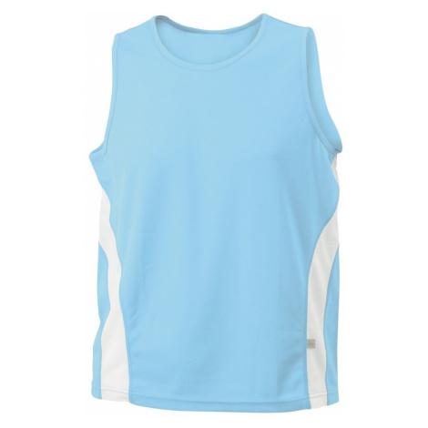 James & Nicholson Pánske športové tričko bez rukávov JN305